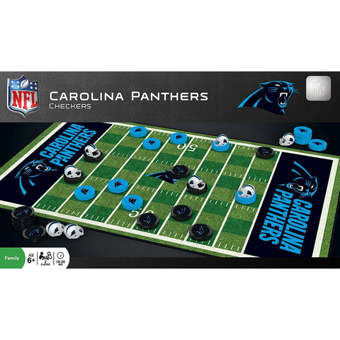 NFL Carolina Panthers Checkers Game by Masterpieces Puzzles Co.