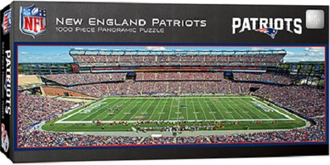 NFL New England Patriots 1000pc Puzzle by Masterpieces Puzzles
