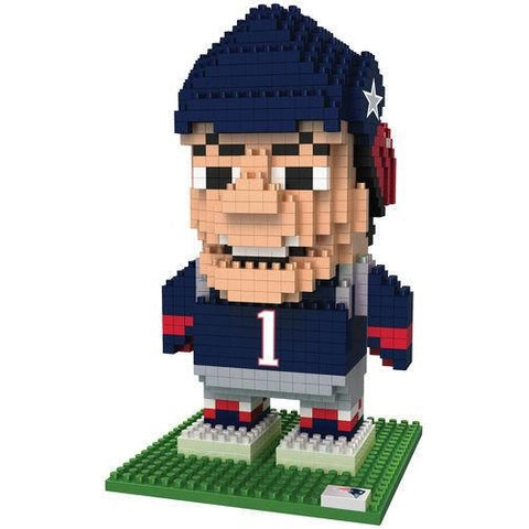 NFL New England Patriots Team Mascot BRXLZ 3-D Puzzle 740 Pieces