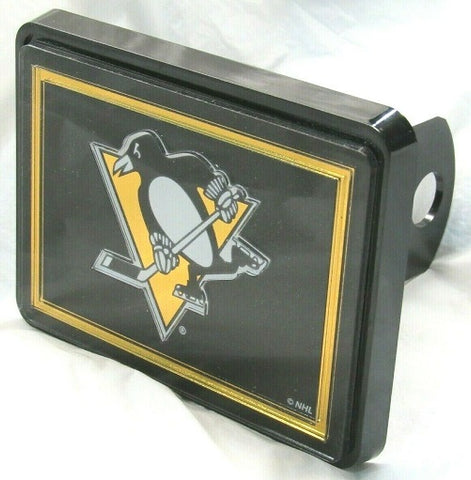NHL Pittsburgh Penguins Laser Cut Trailer Hitch Cap Cover by WinCraft
