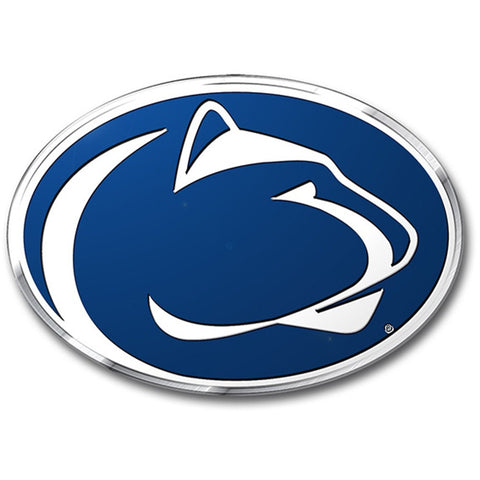 NCAA Penn State Nittany Lions 3-D Color Logo Auto Emblem By Team ProMark