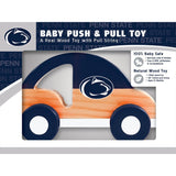 NCAA Real Wood Baby Push & Pull Toy by MasterPieces Puzzle Co.