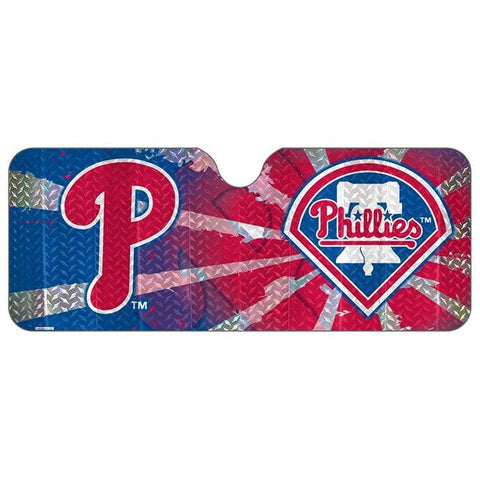 MLB Philadelphia Phillies Automotive Sun Shade Universal Size Team ProMark
