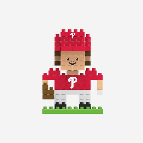 MLB Philadelphia Phillies Team Player Shaped BRXLZ 3-D Puzzle 71 Pieces