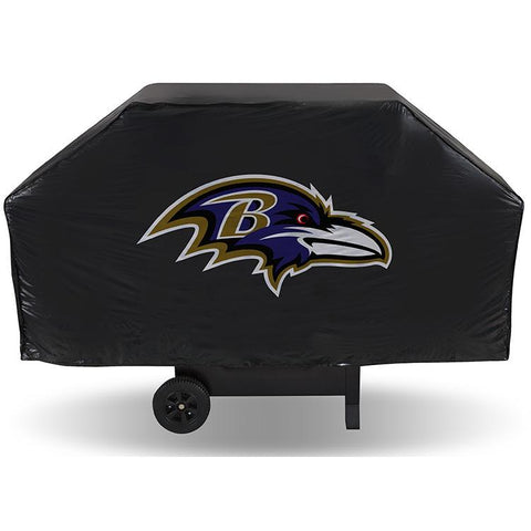 NFL Baltimore Ravens 68 Inch Vinyl Economy Gas / Charcoal Grill Cover