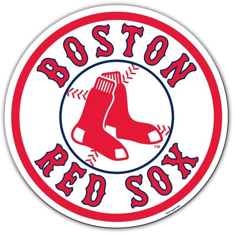 MLB 12 INCH AUTO MAGNET BOSTON RED SOX 1976-2008 LOGO