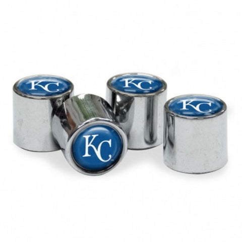 MLB Kansas City Royals Chrome Tire Valve Stem Caps by WinCraft