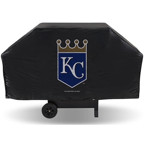 MLB Kansas City Royals 68 Inch Red Vinyl Economy Gas / Charcoal Grill Cover