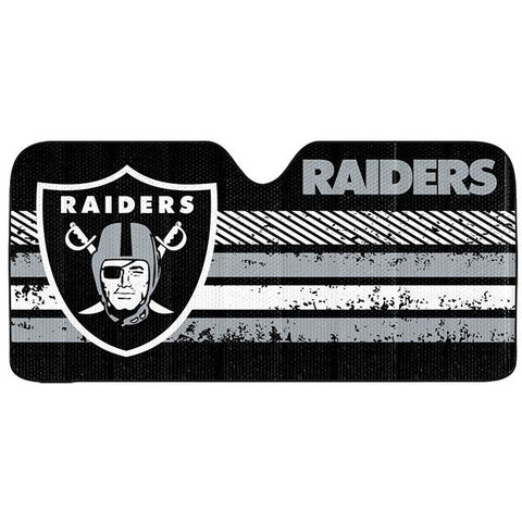 NFL Oakland Raiders Automotive Sun Shade Universal Size by Team ProMark