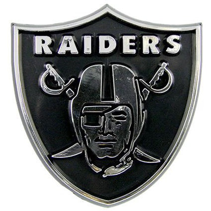 NFL Oakland Raiders 3-D Auto Team Chrome Emblem Team ProMark