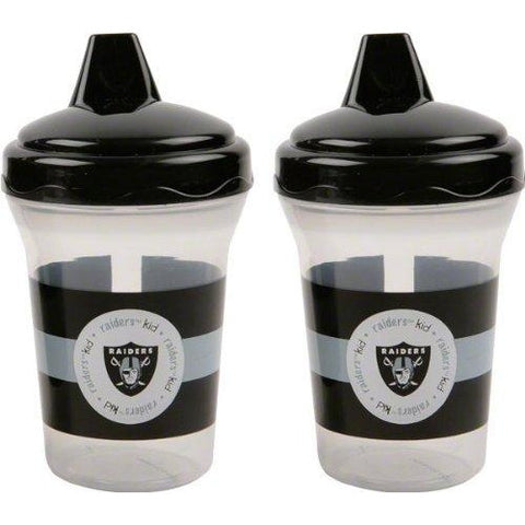 NFL Oakland Raiders Toddlers Sippy Cup 5 oz. 2-Pack by baby fanatic