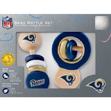 NFL Real Wood Baby Rattles (2-Pack) by MasterPieces Puzzle Co.