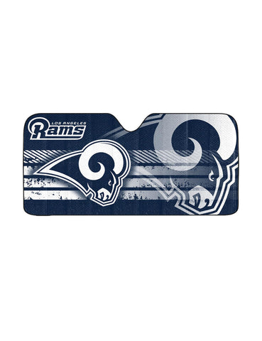 NFL Los Angeles Rams Automotive Sun Shade Universal Size by Team ProMark