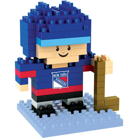 NHL New York Rangers Team Player BRXLZ 3-D Puzzle 87 Pieces