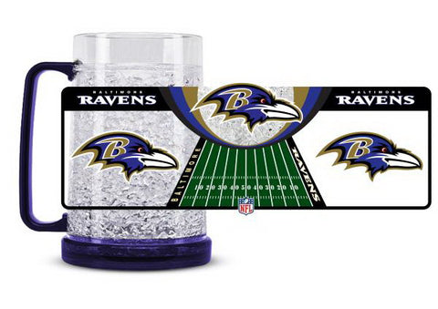 NFL Baltimore Ravens 16oz Crystal Freezer Mug by Duck House