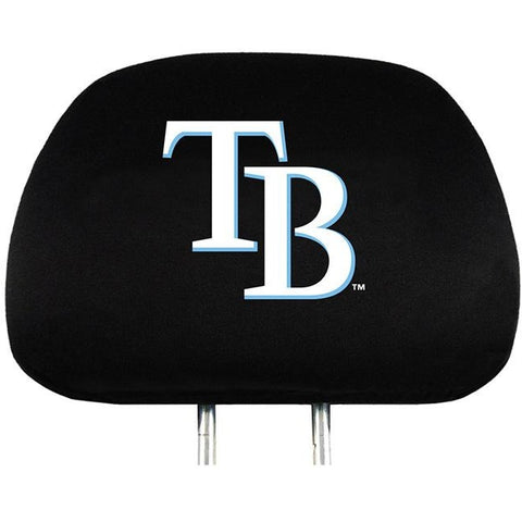 MLB Tampa Bay Rays HeadRest Covers Set of 2 Embroidered Logo ProMark
