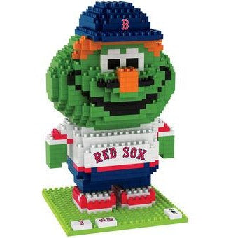 MLB Boston Red Sox Team Mascot BRXLZ 3-D Puzzle 718 Pieces