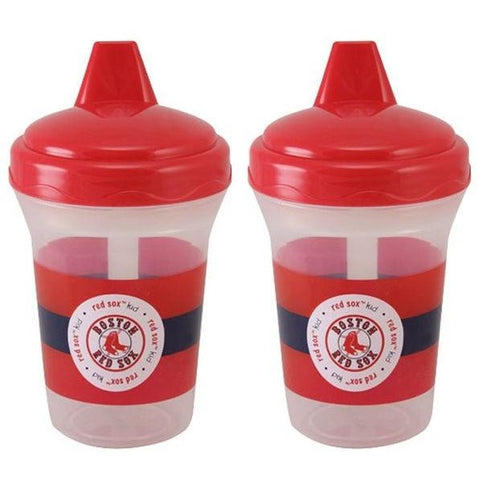 MLB Boston Red Sox Toddlers Sippy Cup 5 oz. 2-Pack by baby fanatic