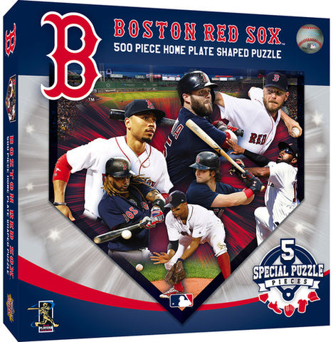 MLB Home Plate Shaped 500 pc Puzzle by Masterpieces Puzzles