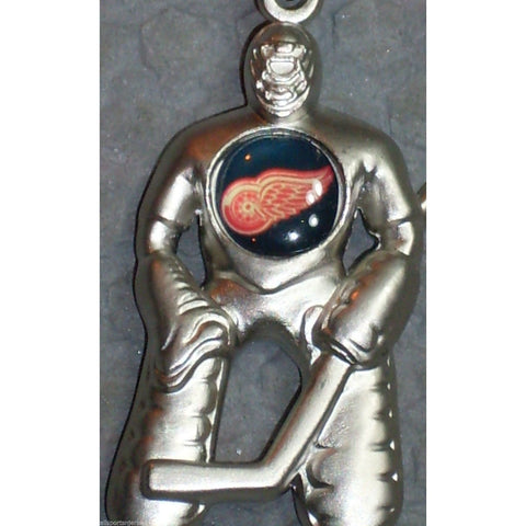 NHL Detroit Red Wings Hockey Player Key Chain Logo on Chest CONCORD Ind.