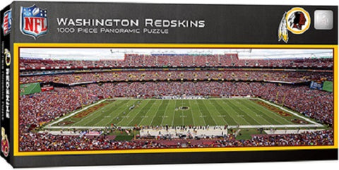 NFL Washington Redskins Panoramic 1000pc Puzzle by Masterpieces Puzzles