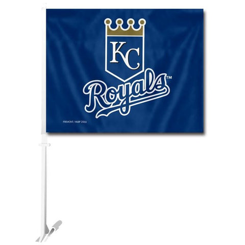 MLB Logo Kansas City Royals Window Car Flag RICO or Fremont Die