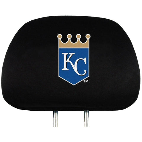 MLB Kansas City Royals Headrest Cover Embroidered Set of 2 by Team ProMark