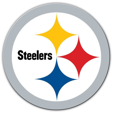 NFL 12 INCH AUTO MAGNET PITTSBURGH STEELERS CURRENT LOGO