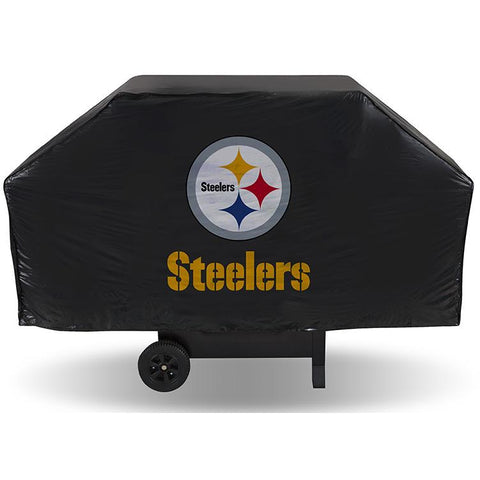 NFL Pittsburgh Steelers 68 Inch Vinyl Economy Gas / Charcoal Grill Cover