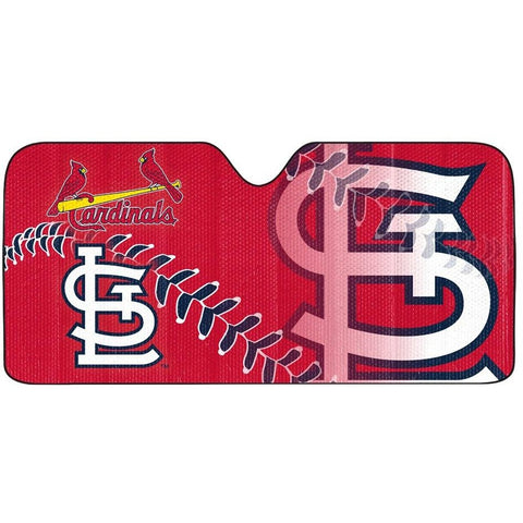 MLB St. Louis Cardinals Automotive Sun Shade Universal Size Team ProMark