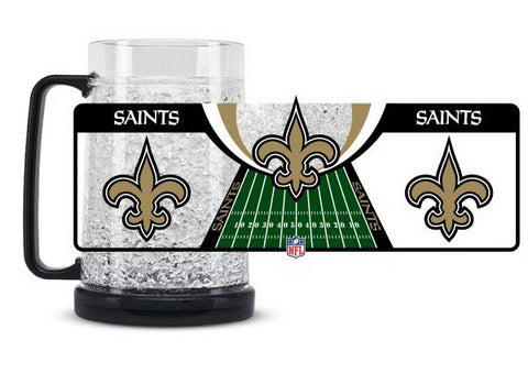 NFL New Orleans Saints 16oz Crystal Freezer Mug by Duck House