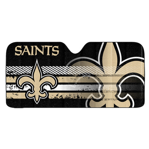 NFL New Orleans Saints Automotive Sun Shade Universal Size by Team ProMark
