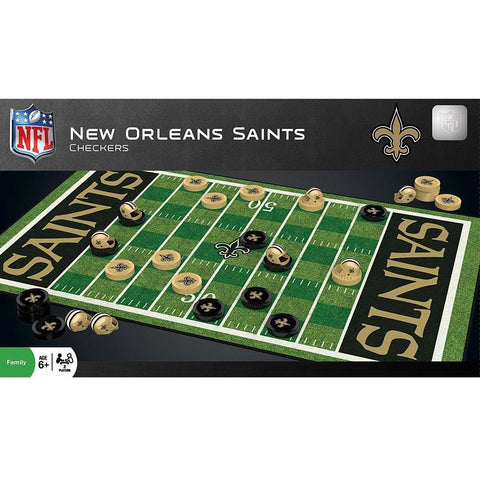 NFL New Orleans Saints Checkers Game by Masterpieces Puzzles Co.