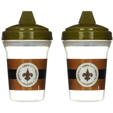 NFL New Orleans Saints Toddlers Sippy Cup 5 oz. 2-Pack by baby fanatic