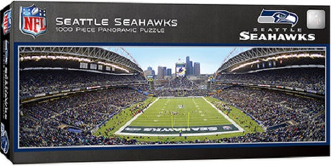 NFL Seattle Seahawks Panoramic 1000pc Puzzle by Masterpieces Puzzles