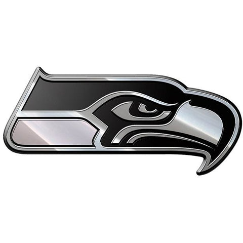 NFL Seattle Seahawks 3-D Chrome Heavy Metal Emblem By Team ProMark