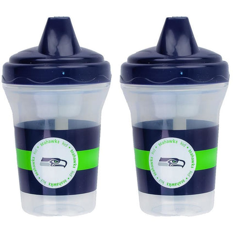 NFL Seattle Seahawks Toddlers Sippy Cup 5 oz. 2-Pack by baby fanatic