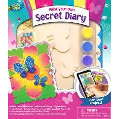 MasterPieces Works of Ahhh... Secret Diary Wood Paint Kit #21639