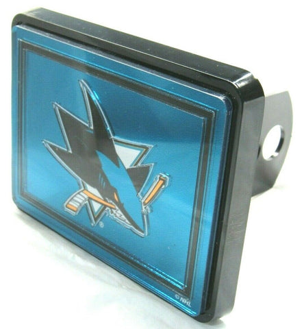 NHL San Jose Sharks Laser Cut Trailer Hitch Cap Cover by WinCraft