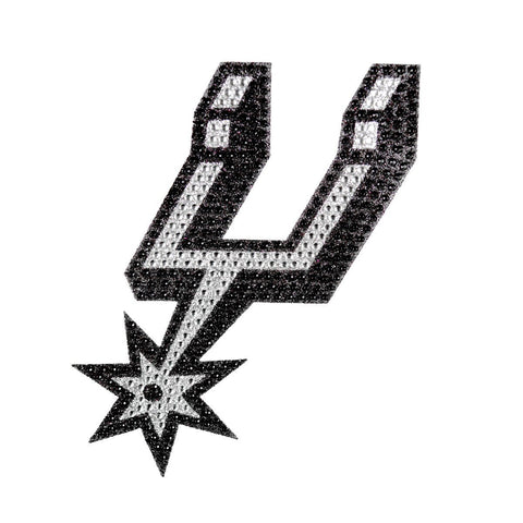 NBA San Antonio Spurs Bling Emblem Adhesive Decal By Team ProMark