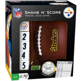 NFL Team Logo on Shake 'n Score Game by Masterpieces Puzzle Co.