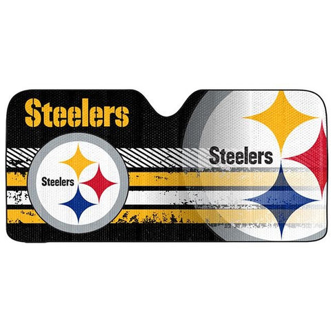NFL Pittsburgh Steelers Automotive Sun Shade Universal Size by Team ProMark