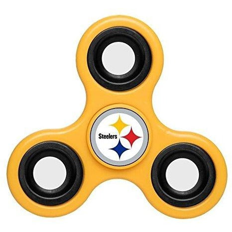 NFL Pittsburgh Steelers 3-Way Fidget Spinner By Forever Collectibles
