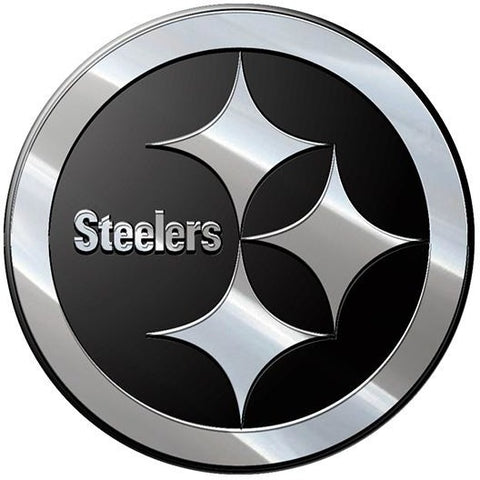 NFL Pittsburgh Steelers 3-D Chrome Heavy Metal Emblem By Team ProMark