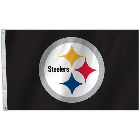 NFL 3' x 5' Team All Pro Logo Flag Pittsburgh Steelers Background