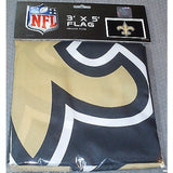 NFL 3' x 5' Team All Pro Logo Flag New Orleans Saints by Fremont Die