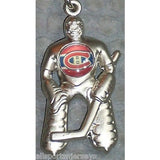 NHL Montreal Canadiens Hockey Player Key Chain Logo on Chest CONCORD Ind.