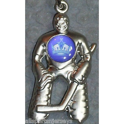 NHL Los Angeles Kings Hockey Player Key Chain Logo on Chest CONCORD Ind.