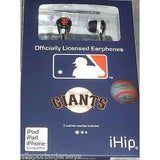 MLB Team Logo Earphones San Francisco Giants By iHip