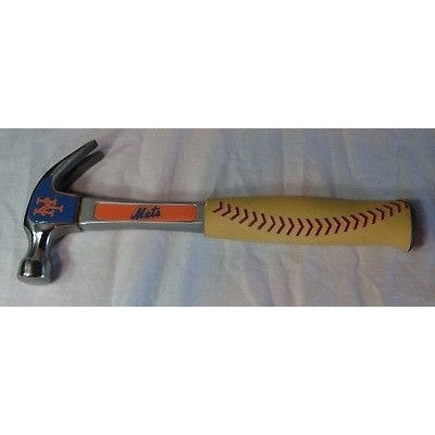 MLB New York Mets Pro-Grip 16 oz Hammer by Team ProMark